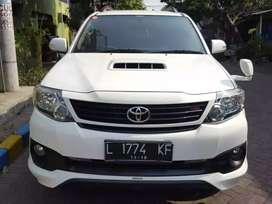 Toyota Fortuner tipe VNT TRD manual tahun 2014 mulus #fortuner #vnttrd
