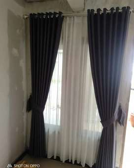 Gordyn Curtain Gorden Blinds Korden Hunian Modern w.898.jdjd373