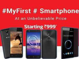 Smartphones Starting -999/- only with bill
