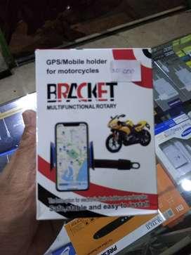 Bracket / holder hanphone di sepeda