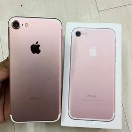 Iphone 7 RoseGold 128gb Mulus Normal Fullset Original Murah