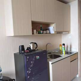 Meja bar kitchen set lemari bawah tangga etalase toko mas Decorasi dll