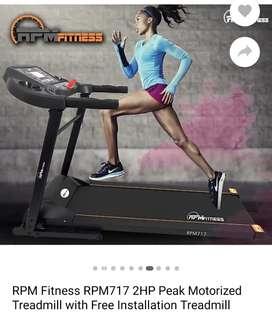 Motor treadmill for sale brand new box piece