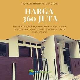 Jual rumah di Kahfi 2 Srengsengsawah Jagakarsa harga 325 juta