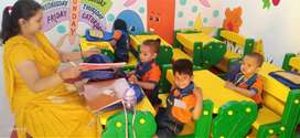 Female teacher required for play school.