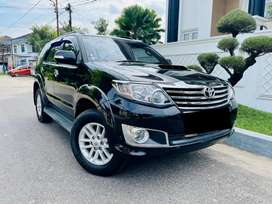 (palembang) FORTUNER G VNT TURBO 2013 / 2014 MT MANUAL SERVICE RECORD