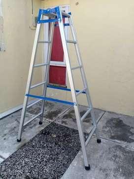 Tangga lipat kualitas bagus, tangga alumunium kuat pooll