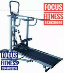 All Model Fitness Equipments available at Focus Fitness