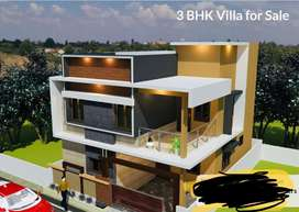 Delighted and Brand New 3BHK Villa for in Sale