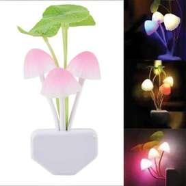 Lampu Tidur - Lampu Hias LED Jamur Unik Model Avatar