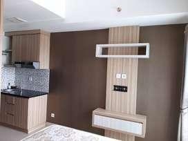 Apartemen type Studio di Taman Melati Tinggal Masuk lt 4 view gunung
