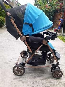 Stroller merek labellie..bisa buat goyang goyang bayi