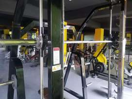 Heavy guage Smith machine