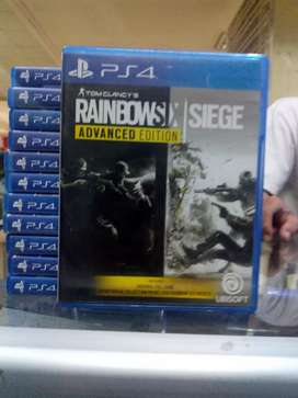 Hot Sale Kaset Game BD PS4 Rainbow Six Siege