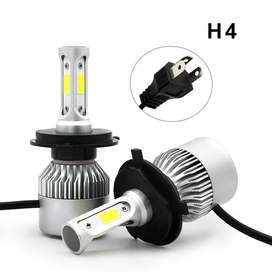 TaffLED Lampu LED COB Headlight  S2 Chip 2 Pcs