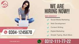 Online earning from daily online work