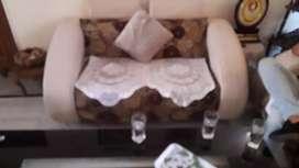 3 sofa set with table