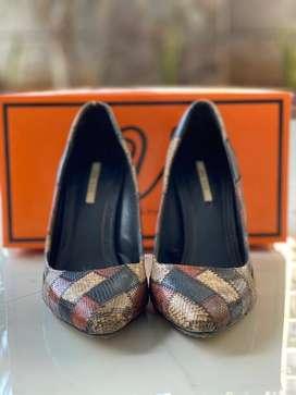 High heels zara basic original