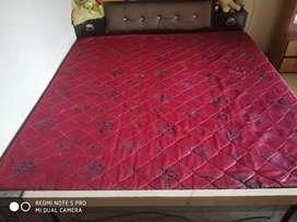 Mattress 72*74 red colour