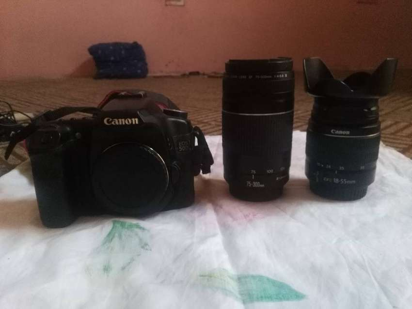 Canon 50d With All Accessories And 2 Lences 75-300 And 18-55 0