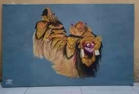 lukisan cat minyak (barong)