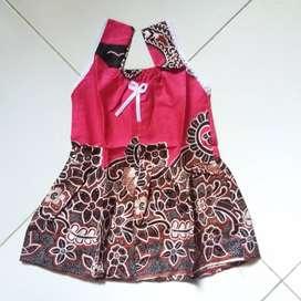 Dress batik bayi dan anak bantul daster bayi jogja