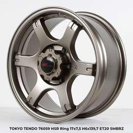 velg recing TOKYO TENDO  HSR R17X75 H6X139,7 ET20 SMBRZ(khusus pajero)