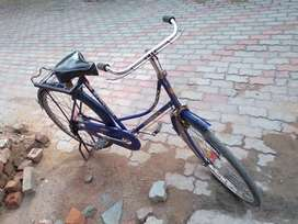 Want to sell Kohenoor lady cycle blue colour perfect working condition