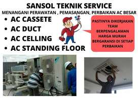 service ac cassette servis ac standing floor mati toal mojokerto
