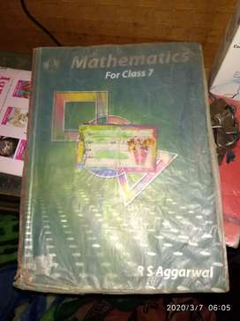 Rs Aagrawal maths class 7