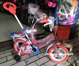 "Sepeda Mini Anak Monchichi Stir 12"" Red"