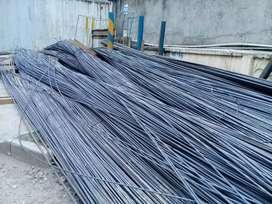 Besi ulir 10 mm baru 12 meter lelangan