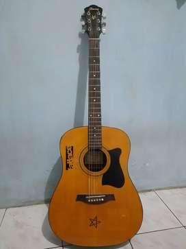 Gitar akustik/elektrik Ibanez V72E-NT-2Y-01