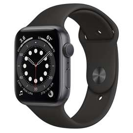 Apple Watch Series 6 GPS 44mm Space Gray Aluminum withSport Band M00H3