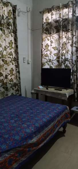 Fully Furnished 2 Rooms with AC, Fridge,Led TV,bed,Sofa gas,all Goods
