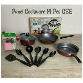 Panci Cookware Set 14 Pcs GSE