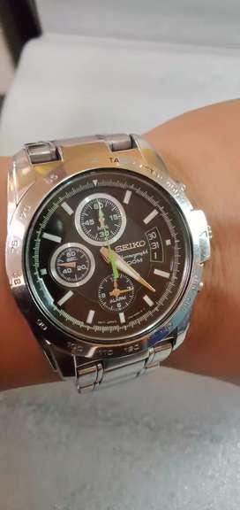 Seiko Cronograph 100M Quartz original mulus