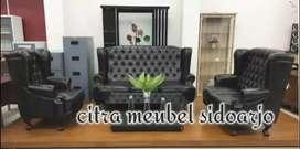 Sofa kancing jaguar krisna dudukan 321 sandaran tinggi exclusive