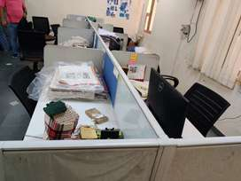 8 person Work station for office use