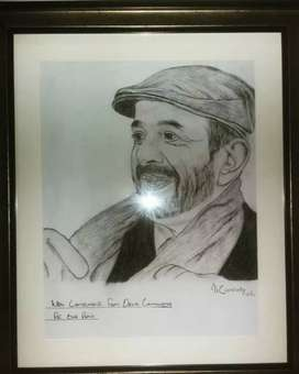 Best Gift (Sketch with quality Frame)