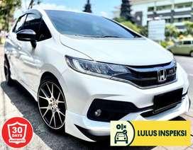 [Lulus Inspeksi] Honda jazz rs 2017 facelift manual putih fullvariasi