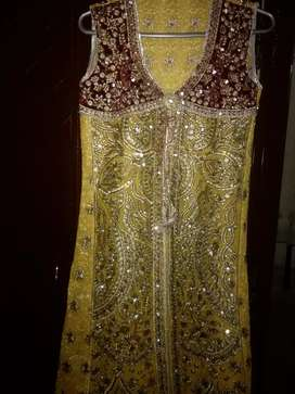 mandi dress pure chifoom haevy machinery work