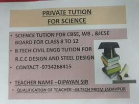 Tution for civil engg