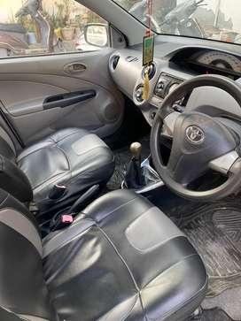 Toyota Etios 2012 CNG & Hybrids 55000 Km Driven