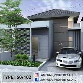 Rumah Wayhalim Bandar Lampung Bebas Desain