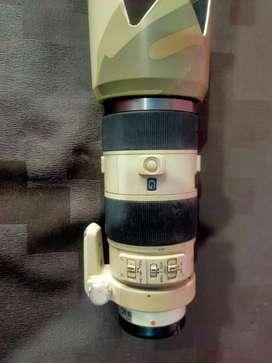 Song camera lens 2.8/70-200 G SSM 2