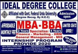 MBA, BBA