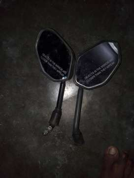 Only 2 months used bike side mirrors 95o5558643
