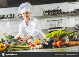 Professional Female Cook Required For Home