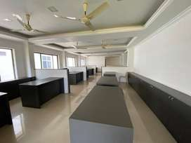 At Manachira - Furnished office Space for rent .